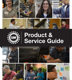 Click to Download Product & Service Guide - UAW Local 1069